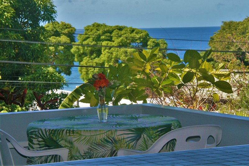 Coral Sunset Villa- Beautiful beaches steps away!, alquiler de vacaciones en Arnos Vale