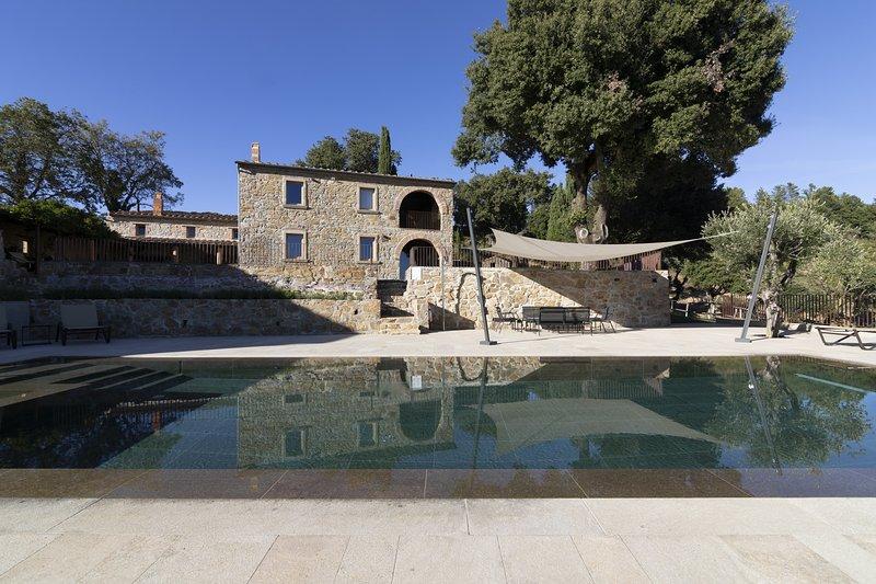 Azienda Meleta - Casa Archi, alquiler vacacional en Torniella