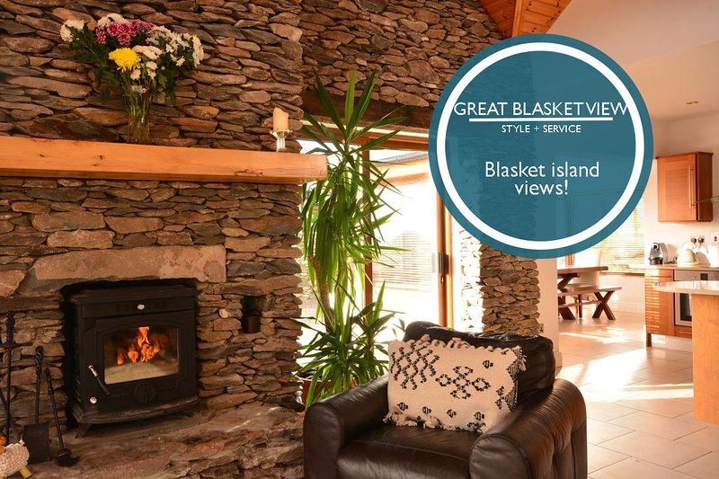 Great Blasket View - Perfect haven!, vacation rental in Ballyferriter