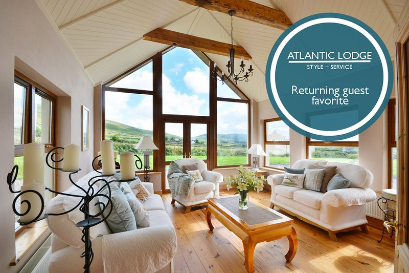Atlantic Lodge - Charming country getaway, holiday rental in Dingle