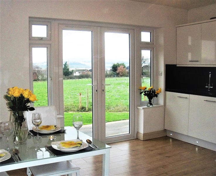 Kitchen Diner with views over The Exe Estuary