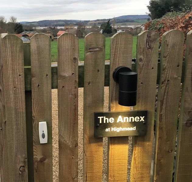 The Annex is completely self-contained with its own private entrance