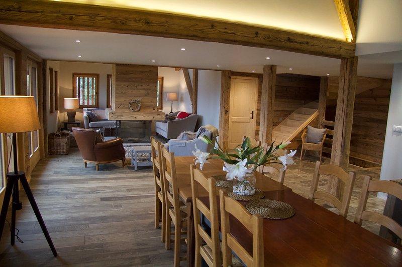 Ferme Soujon - Luxury Ski Chalet - Samoens/Verchaix, holiday rental in Verchaix