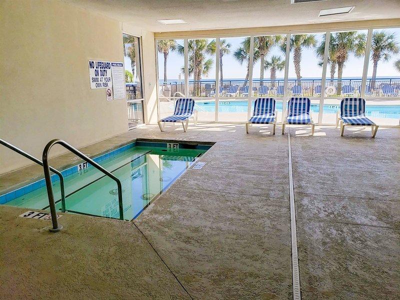 oceanfront 2 bedroom 3 bath suite at boardwalk resort