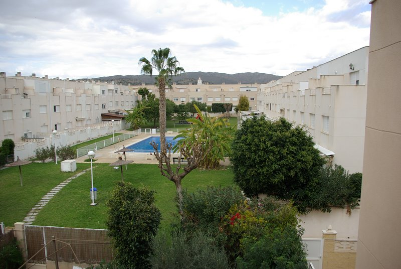 Community zone. Pool and garden