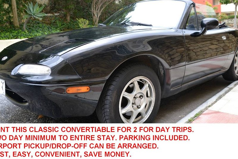 We offer this classic 2-seat convertible to make your experience with us even better for your day trips. Please enquire.
