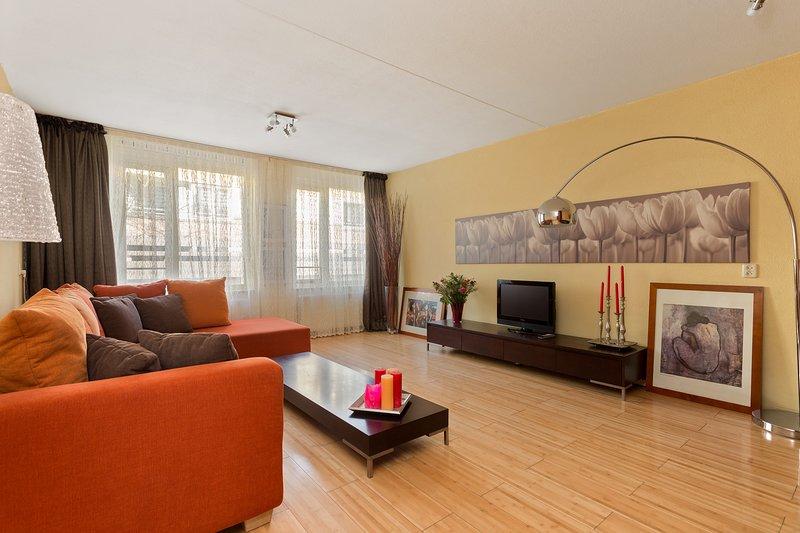 Lovely Apartment Close to City Center – semesterbostad i Muiden