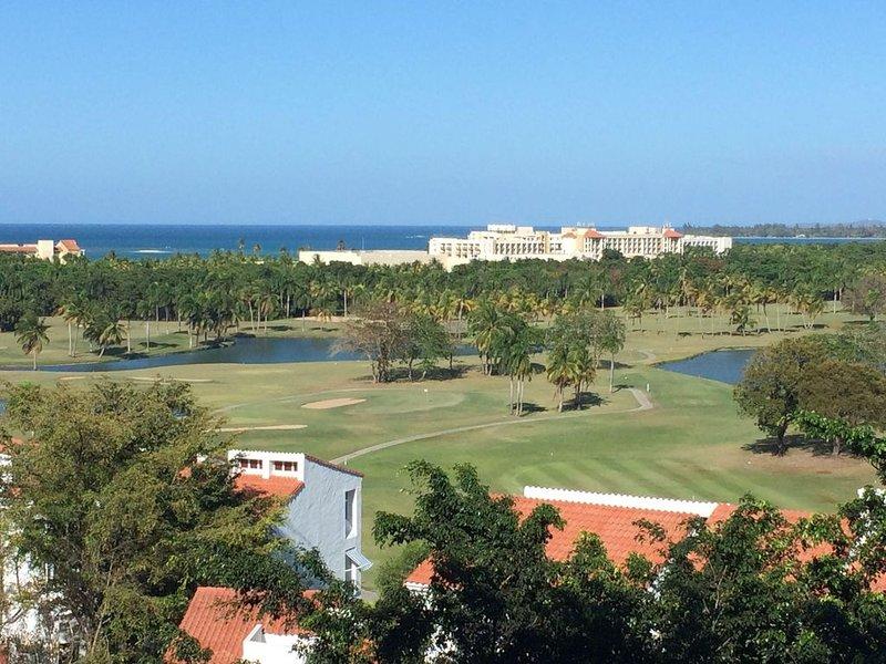 Villa at Wyndham Rio Mar Resort - Golf Course Views, holiday rental in Cayey