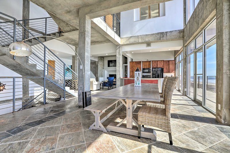 Enjoy an unforgettable Galveston getaway at this beautiful vacation rental home!