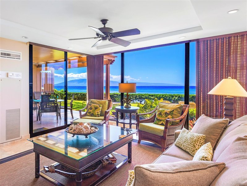 Livingroom has easy access to the lanai