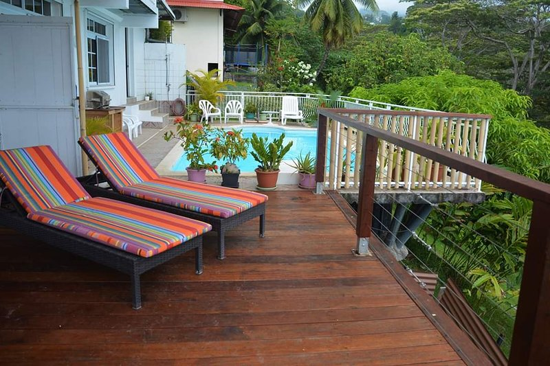 Manava Tahara'a homestay - Appartement 40 m2, vacation rental in Arue