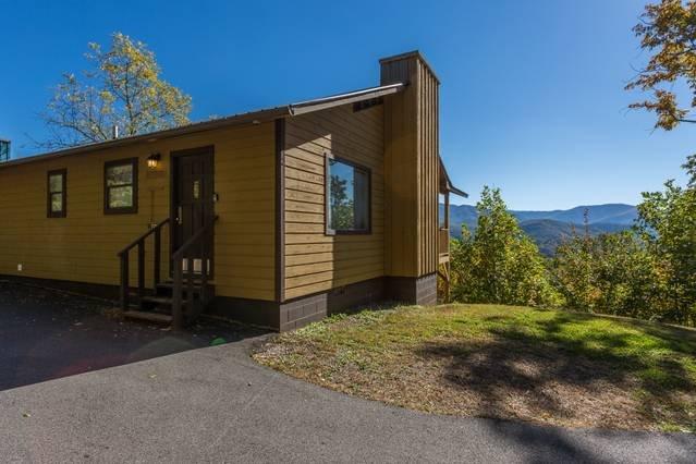 Cabin Exterior With A Smoky Mountain View!
