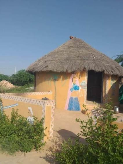 soggiorno nel villaggio di bishnoi