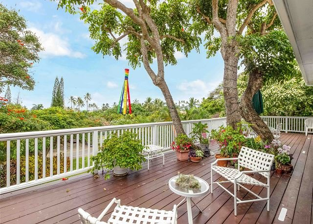 ocean tree house w lush yard lanai walk to world renowned beach rh tripadvisor com