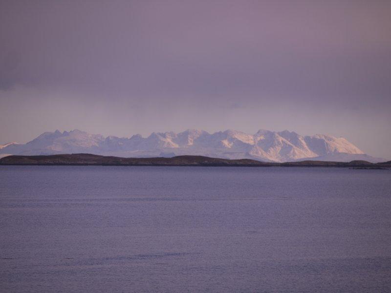 A winter stay can offer stunning views too