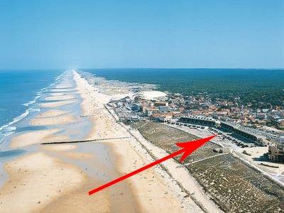 Studio BORD de plage et VUE  180°dégagée Océan 100 m la plage, vacation rental in Lacanau