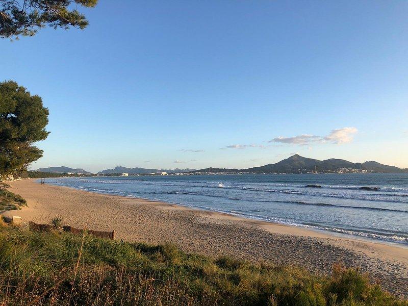 Moderna Casa frente a la playa, casa vacanza a Playa de Muro