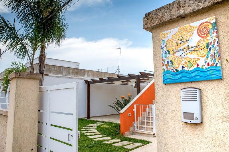 Villino IlMareChiama | terrazza, wifi, a/c, bbq, casa vacanza a Villaggio Boncore