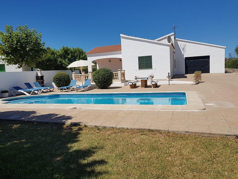 Villa Maria, holiday rental in Cala'n Forcat