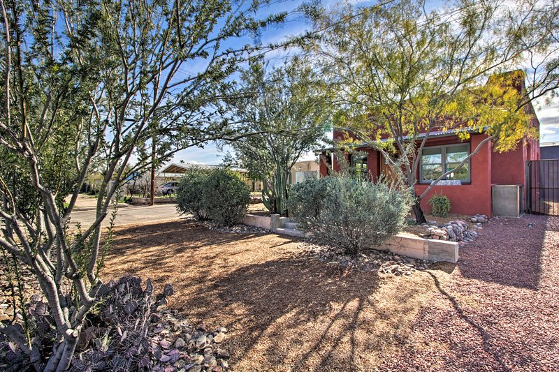 This home sits on quiet street in ideal proximity to downtown.
