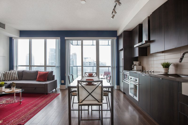 bright and elegant open concept flat has terrace and air rh tripadvisor com