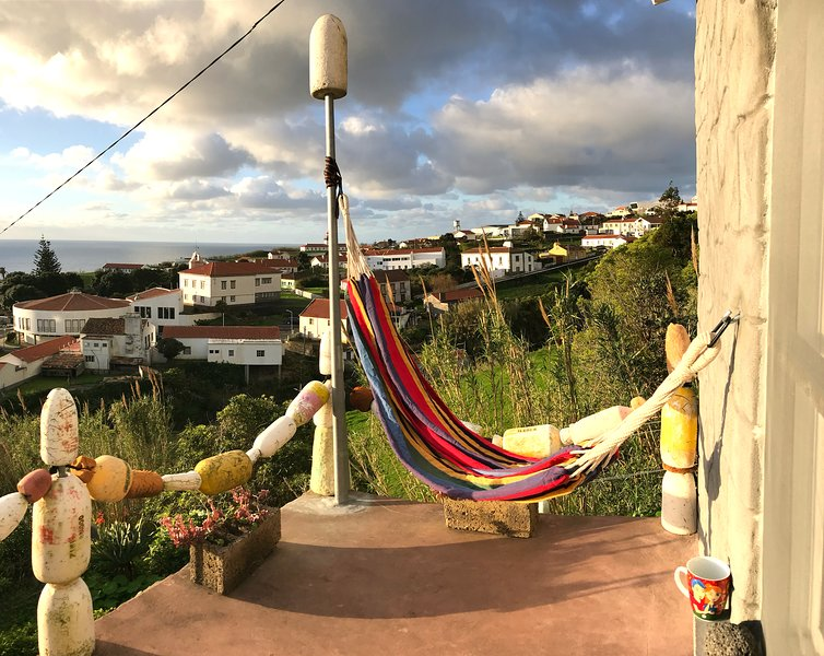 Just let your mind wander ... Large hammock (210 x 150 cm) for up to 2 people