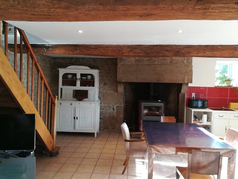 Sala de estar cocina