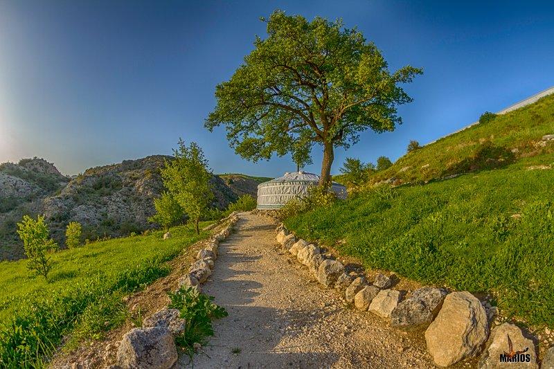 Yurts in Cyprus - Qadan Yurt, holiday rental in Peristerona
