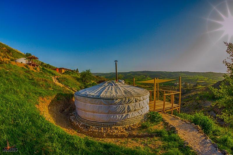 Yurts in Cyprus - Koliba Cabin, holiday rental in Peristerona