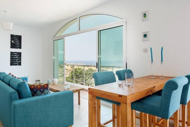 Joya Cyprus Azure Oceanview Penthouse Apartment, holiday rental in Bahceli