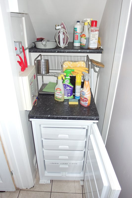 Fridge & Utility Area