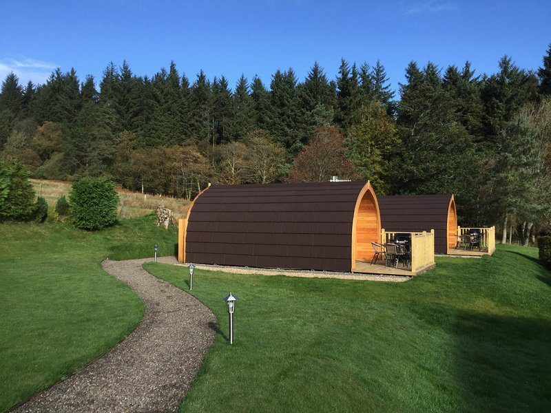 Stoneymollan Luxury Pods Loch Lomond - Holly, vacation rental in Loch Lomond and The Trossachs National Park