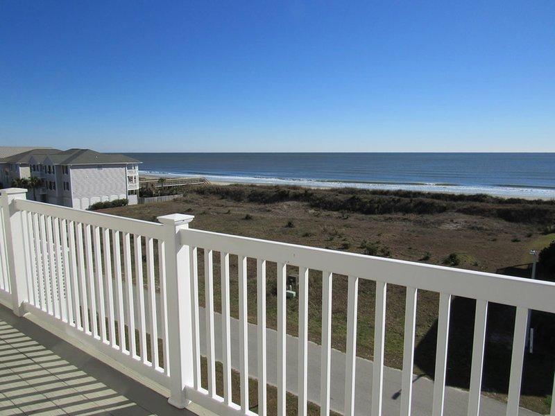 Unobstructed ocean views and only 200 ft to the beach