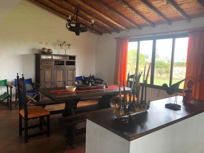 CABAÑA CAMPESTRE MESA DE LOS SANTOS, holiday rental in Aratoca