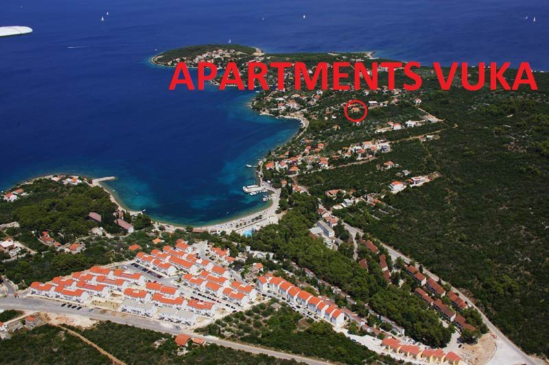 Apartemnts Vuka -  Apartment A, vacation rental in Necujam