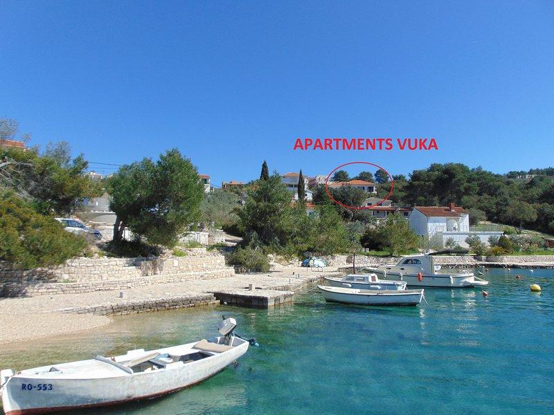 Apartments Vuka - Apartment B, vacation rental in Necujam