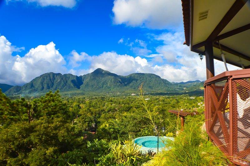 Vista completa al Valle de Anton - Villa Arcoíris, holiday rental in El Valle de Anton