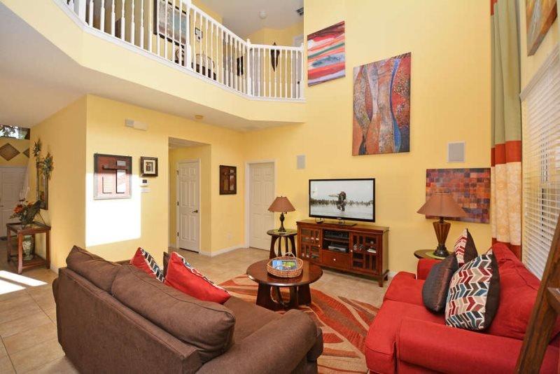 917OCB. Stunning 5 Bedroom 4.5 Bath Watersong Pool Home, vacation rental in Polk City