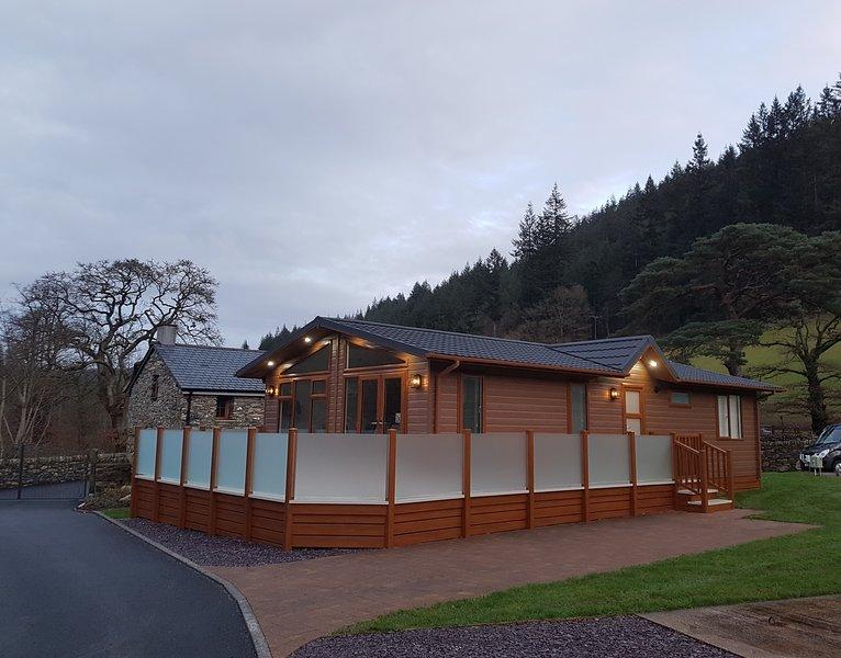 Luxury Lodge Betws y Coed Snowdonia National Park North Wales, vacation rental in Betws-y-Coed
