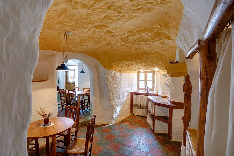 Cueva Al Jatib charming cave house for 4-6 people – semesterbostad i Seron