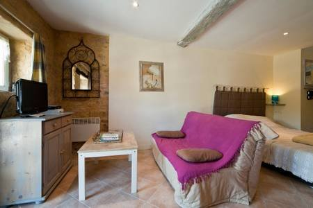 Amazing studio with shared pool, holiday rental in Sainte Mondane
