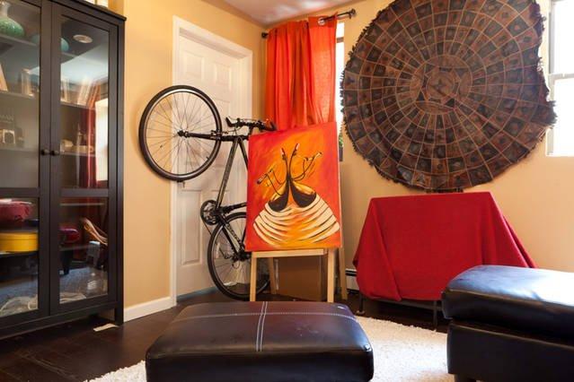 Furniture,Indoors,Transportation,Bike,Bicycle