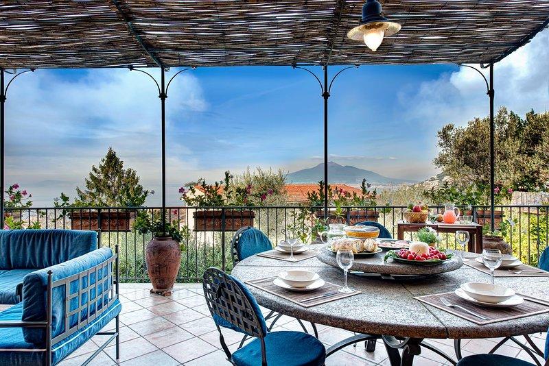 Villa Antonella, holiday rental in Meta