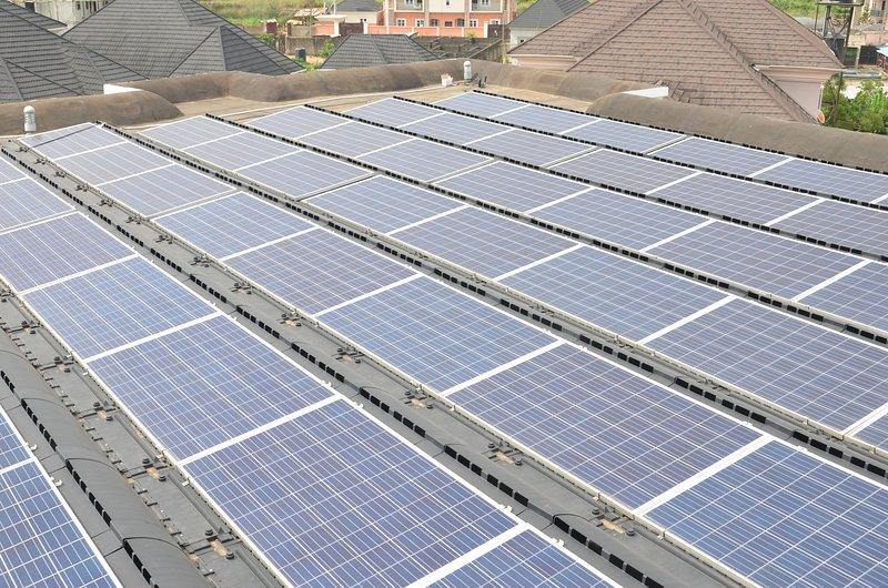 Arrays of Solar Panels for Solar Energy Supply