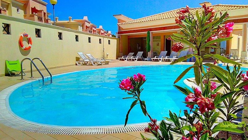 Pool Duplex Terracos de Castelo Sesimbra Lisbon South Bank, holiday rental in Sesimbra