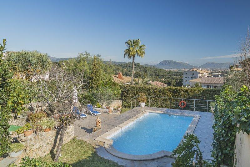 Villa Es Puig, vacation rental in Buger