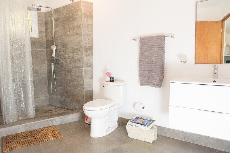 bright spacious bathroom