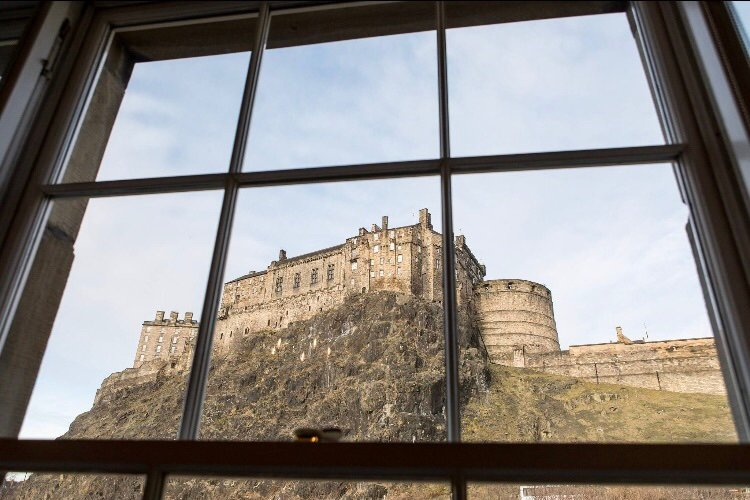 Feel like a royal-this will be your view from the living room window!