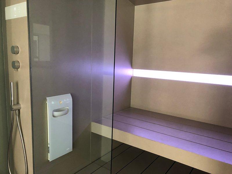 Residencia Geranio. baño de vapor