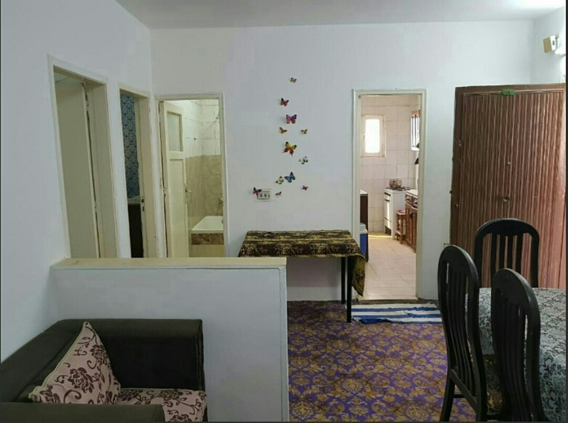 The interior of the apartment